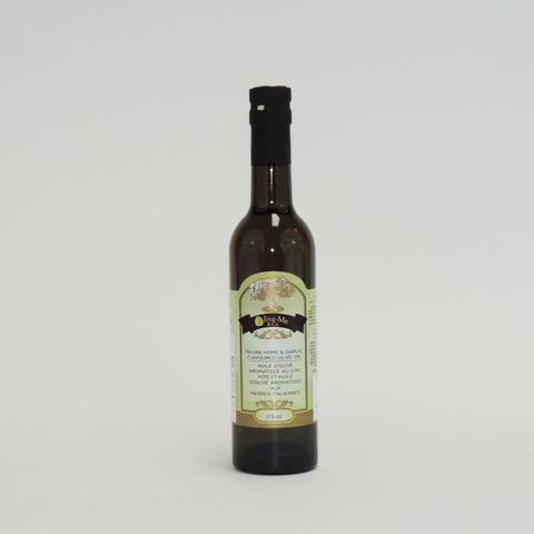 ITALIAN HERB & GARLIC OLIVE OIL 375ML