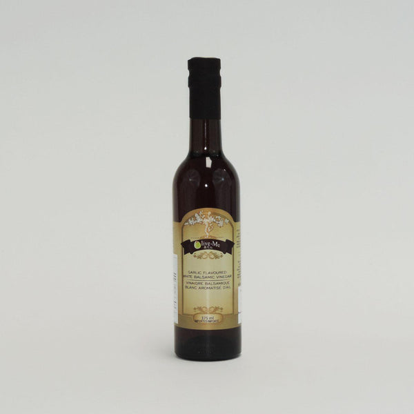 WHITE GARLIC BALSAMIC 375ML
