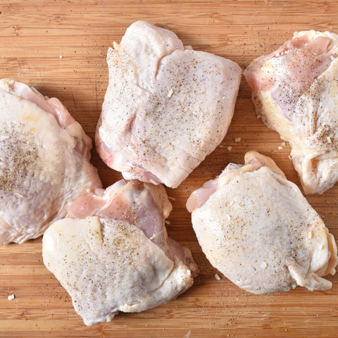 Chicken thighs- Organic per lb
