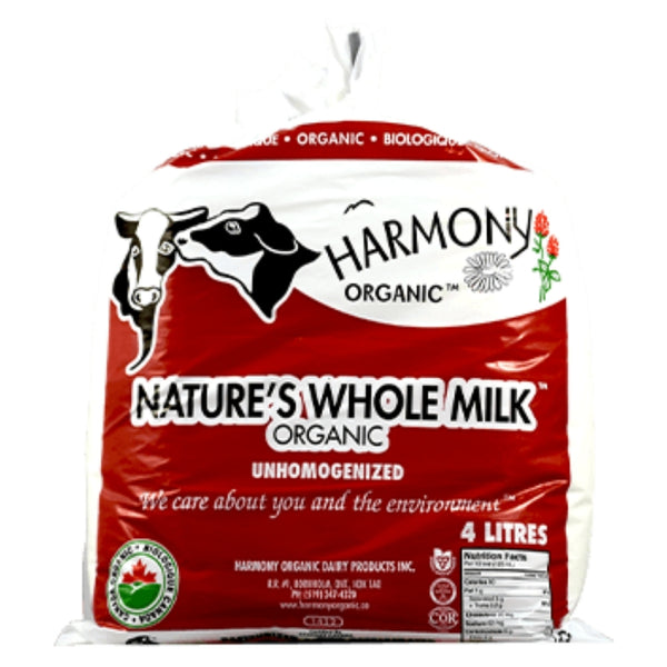 ORGANIC UNHOMOGENIZED MILK-4 L