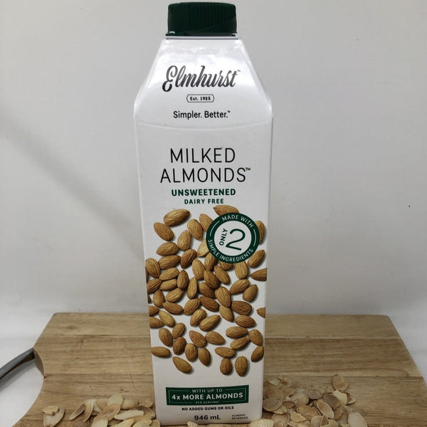Almond Milk  Elmhurst Unsweetened A - 946ml