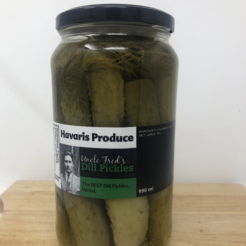 Uncle Fred's Dill Pickles 990ml