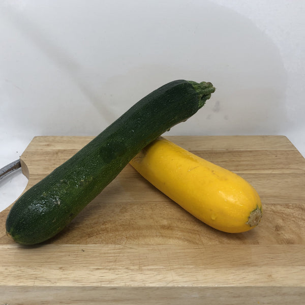 Zucchini - 2 pack, 1 green, 1 yellow
