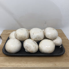 Mushrooms- White- 1/2 lb