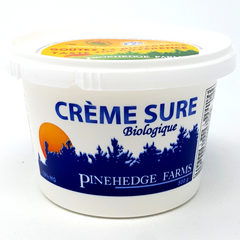 ORGANIC PINEHEDGE SOUR CREAM