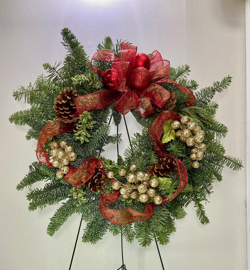 Christmas Wreath 2020 - House Plants by Purple Rose Florist