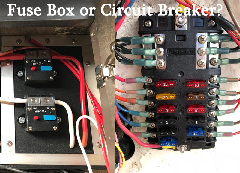 Why do new cars still use fuses while modern homes use circuit breakers?