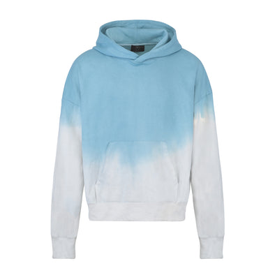 The shady blue hoodie