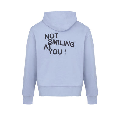 Baby Blue Not Smiling At You Hoodie