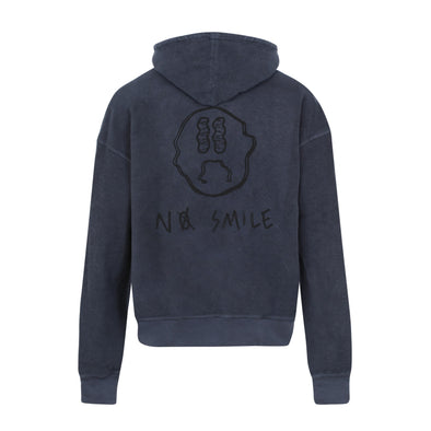 Reverse Anthracite Hoodie