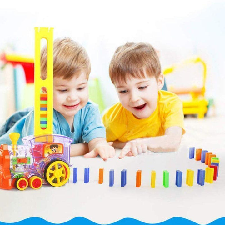 Domino Train For Childen(Buy 2 For Free Shipping) - balawhite