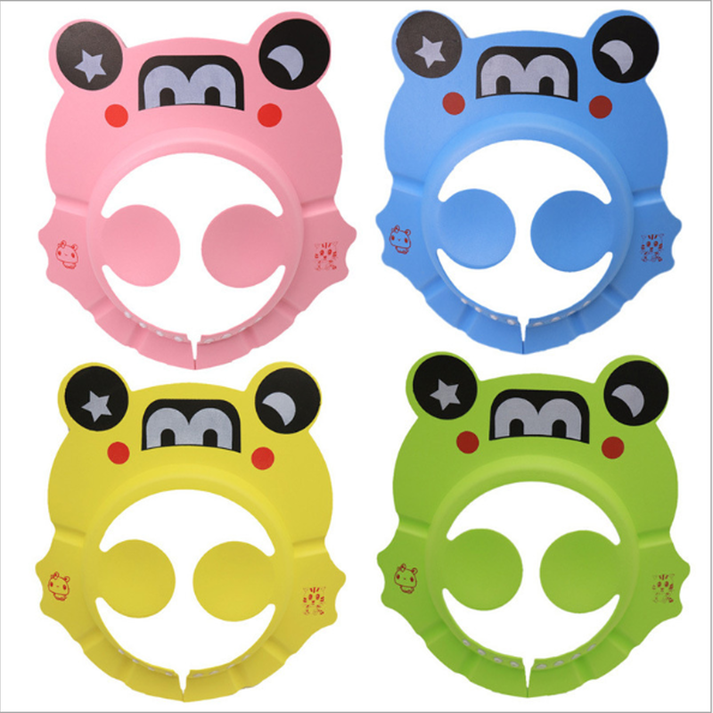 Baby Bath Head Hat Waterproof Ear Protectors