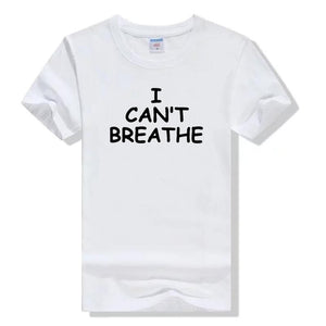 Hot! 1pc fashion I CAN'T BREATHE Men T-Shirt