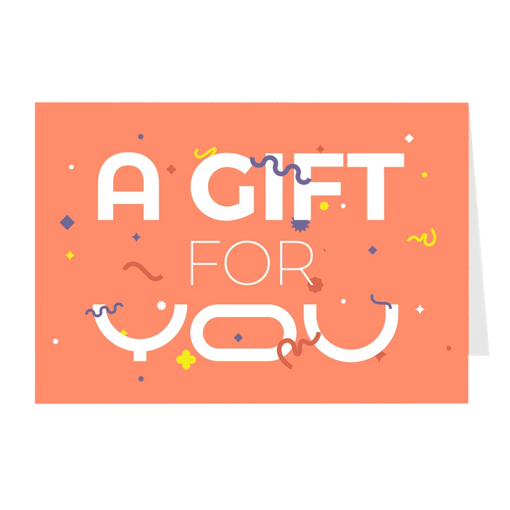 A Gift for You Greeting Card Pack