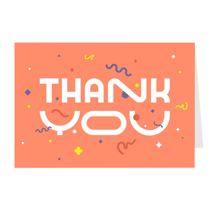 Thank You Greeting Card Pack