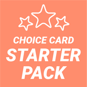Starter Pack - Choice Card (10 Cards)