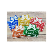 Happy Birthday Gift Card Holder 5-Pack