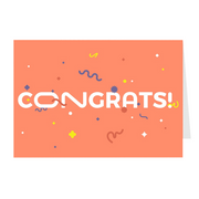 Congrats Greeting Card Pack