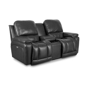 GREYSON  Power La-Z-Time Full Reclining Loveseat with Console