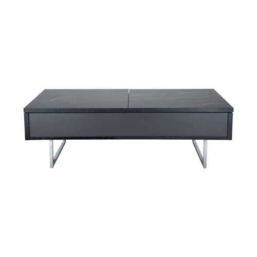 BOSTON DUO CENTER TABLE (BLACK MARBLE) (5928260141217)