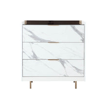 Load image into Gallery viewer, CALACATTA CHEST OF 3 DRAWERS (5399869325473)