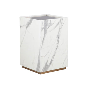 CALACATTA SIDE TABLE (5399871127713)