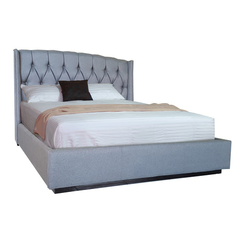 CHARMAINE QUEEN BED (CUSTOMIZABLE) (5399779803297)