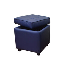 Load image into Gallery viewer, DARLA STORAGE OTTOMAN