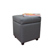 Load image into Gallery viewer, DEBBIE STORAGE OTTOMAN