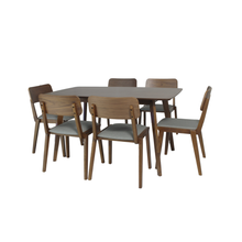 Load image into Gallery viewer, KENT DINING SET FOR 6 (5399621042337)