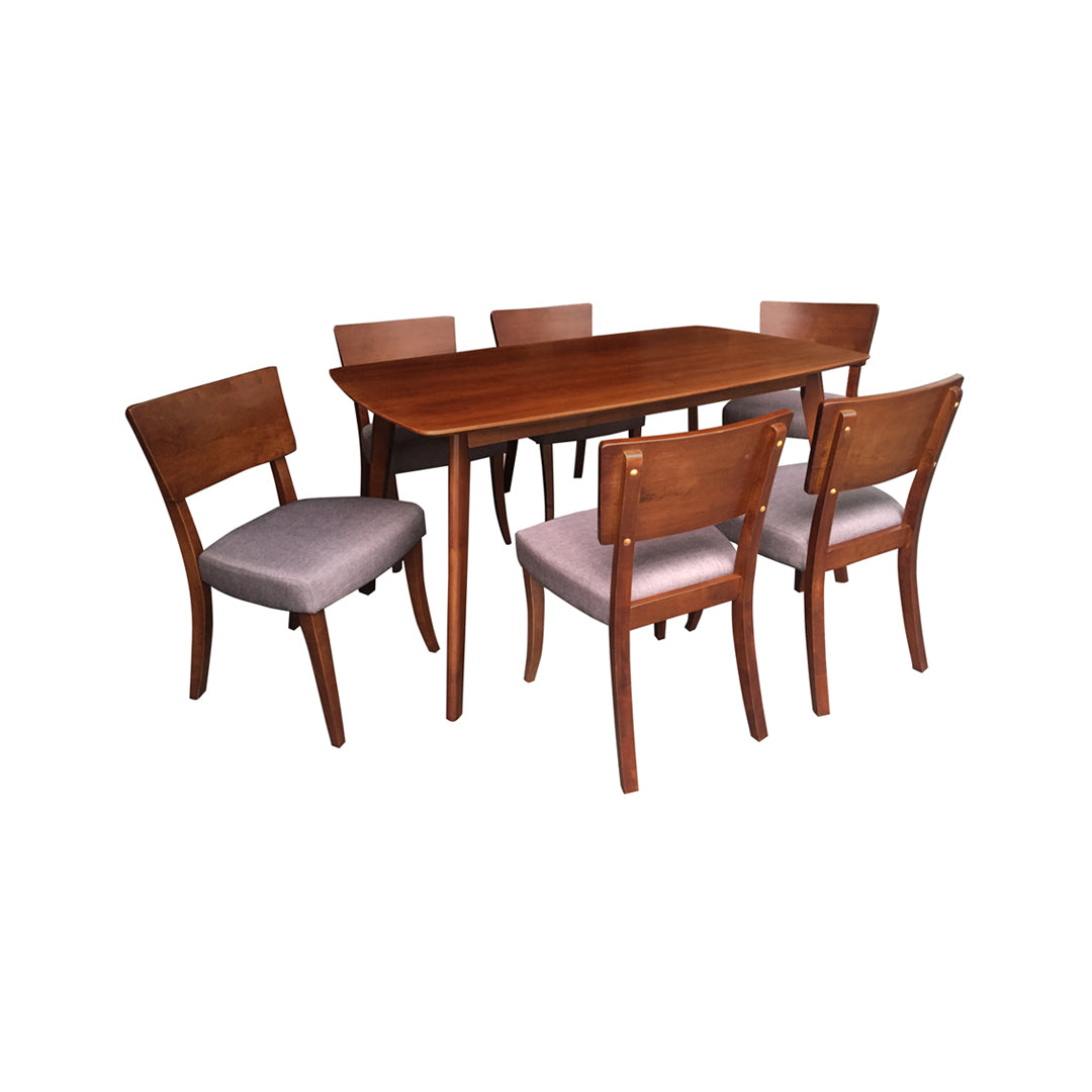 MAXINE DINING SET FOR 6 (5399791501473)