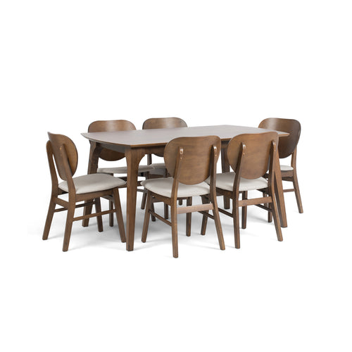 SANDERS DINING SET FOR 6 (5399719510177)
