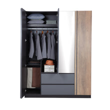 Load image into Gallery viewer, MIDTOWN 4-DOOR WARDROBE (5399789142177)