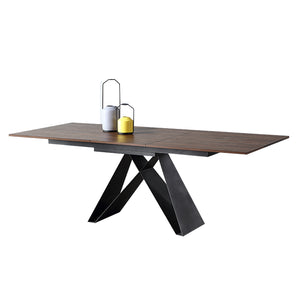 UHURA EXTENDABLE DINING TABLE (5399613833377)