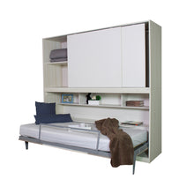 Load image into Gallery viewer, WALL BED WITH STORAGE CABINET (5399908974753)