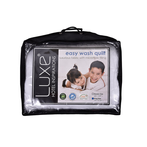 Luxe Easy Wash Quilt- King (5499092762785)