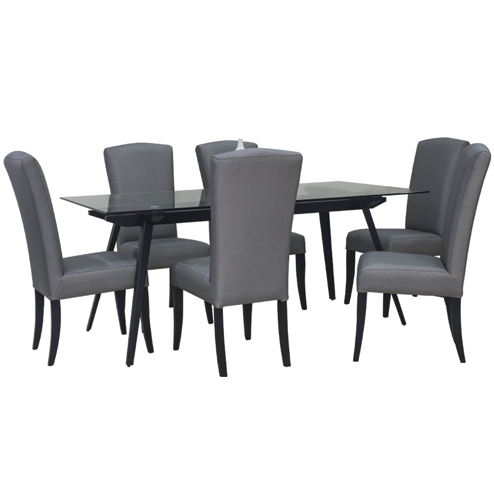 LORRAINE DINING SET FOR 6 (5399773053089)