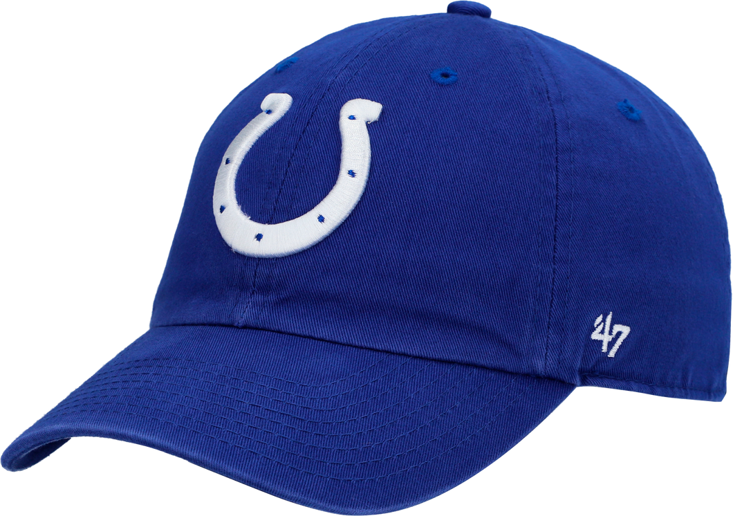 INDIANAPOLIS COLTS MENS '47 BRAND HORSESHOE MVP BLUE