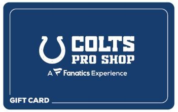 COLTS MOBILE SHOP GIFT CARD
