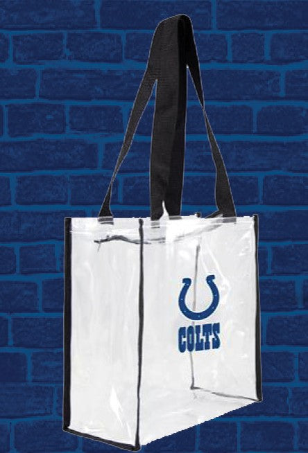 Colts Clear Stadium Tote