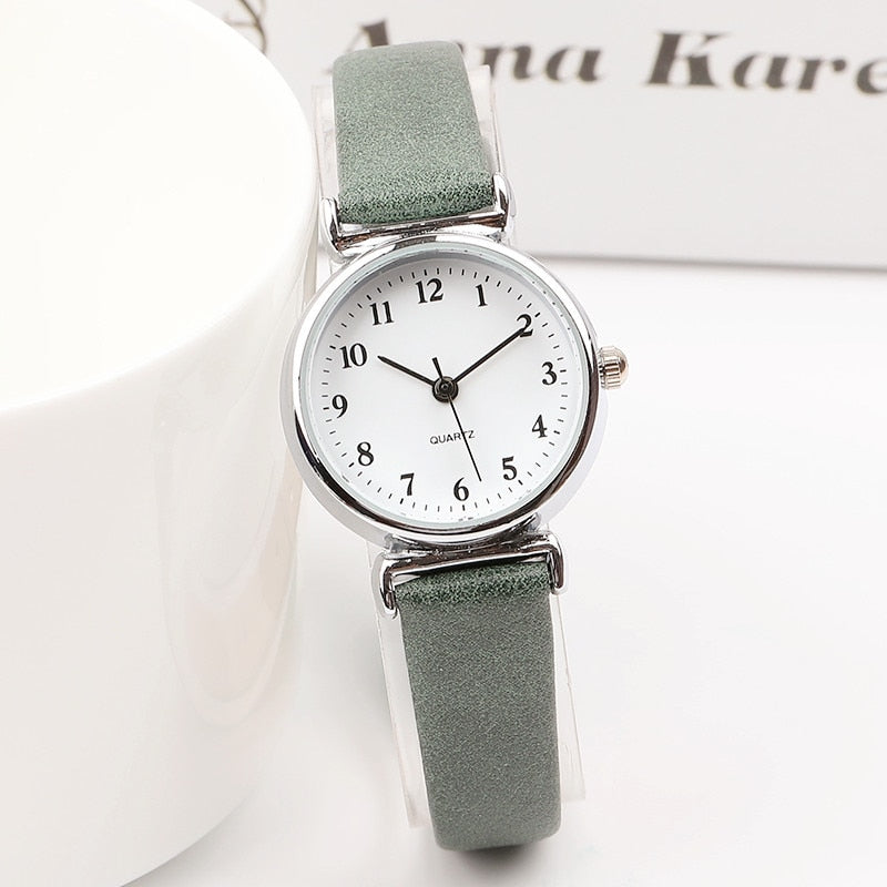 Women's Fashion Mini Design Wristwatches Clock