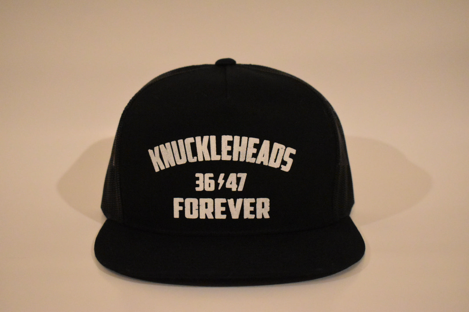 Knuckleheads Forever 5-Panel Snap Back Hat BLK