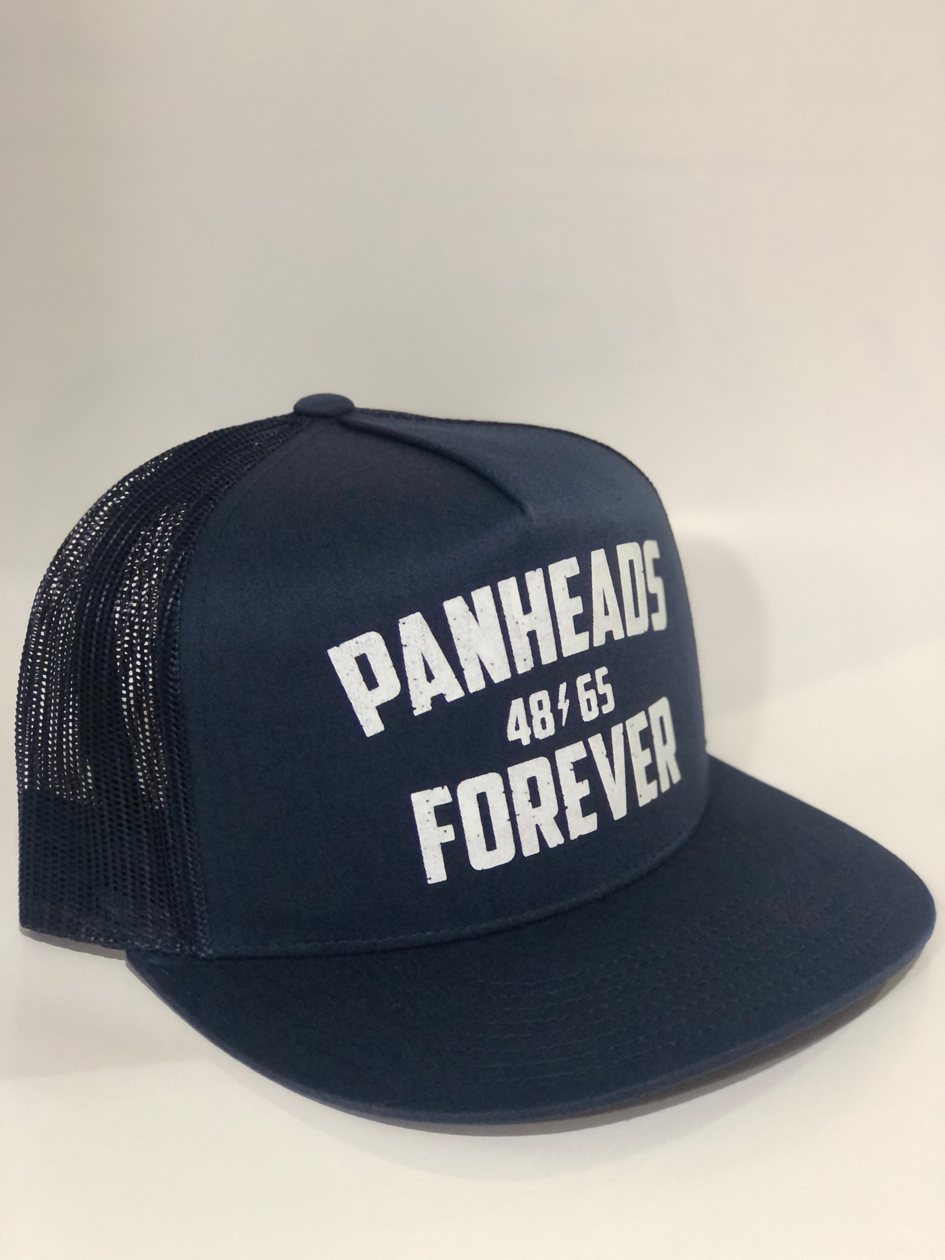 Panheads Forever 5-Panel Snap Back / NAVY BLUE