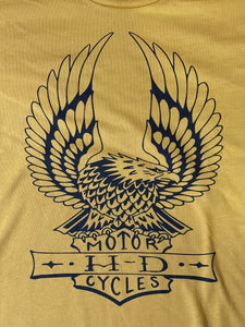Vintage Gold HD Eagle