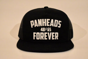 Panheads Forever 5-Panel Snap Back Hat BLK