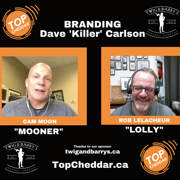 #016 - Personal Branding - a look at Dave 'Killer' Carlson from the greatest hockey movie ever