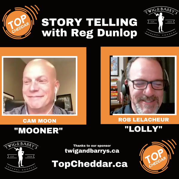 The power of story telling with Reg Dunlop