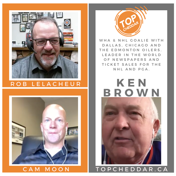 Ken Brown - Tales from the WHA, the early Oiler years, the media biz, PGA and more!