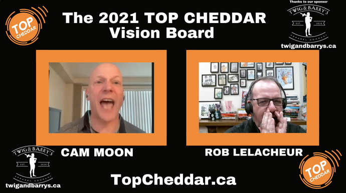 #29, the Top Cheddar Vision board for 2021.