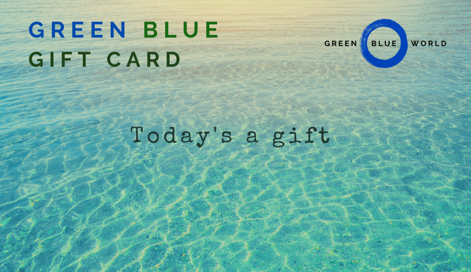 Green Blue gift card: Today's a gift